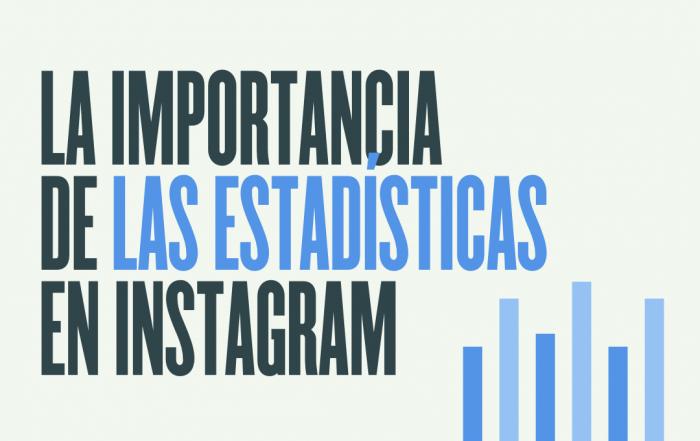 Uso de estadisticas en Instagram